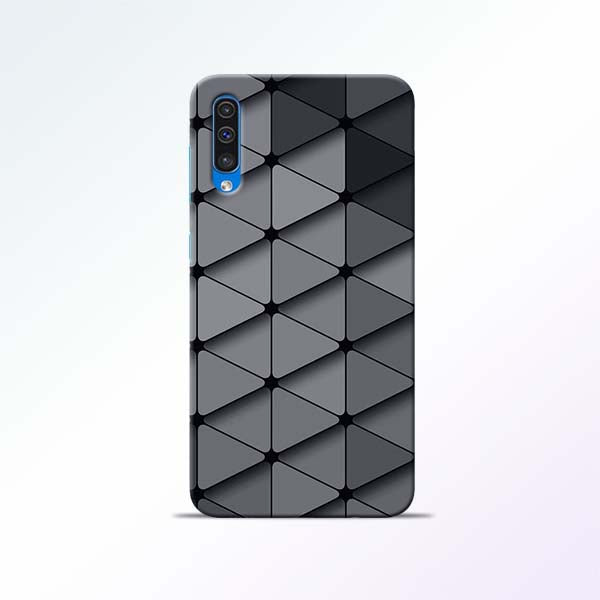 Grey Crystal Samsung Galaxy A50 Mobile Cases