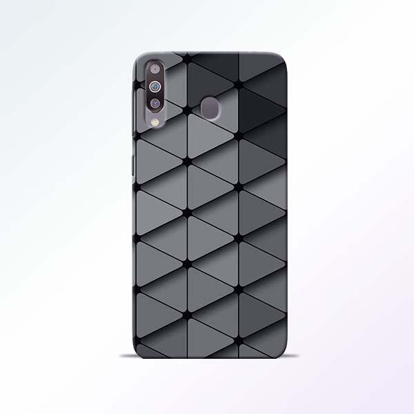 Grey Crystal Samsung Galaxy M30 Mobile Cases