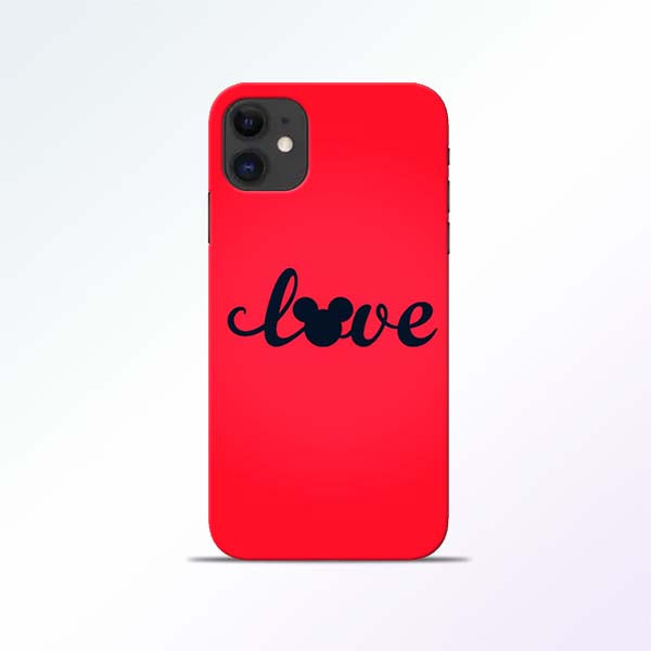 Love Mickey iPhone 11 Mobile Cases