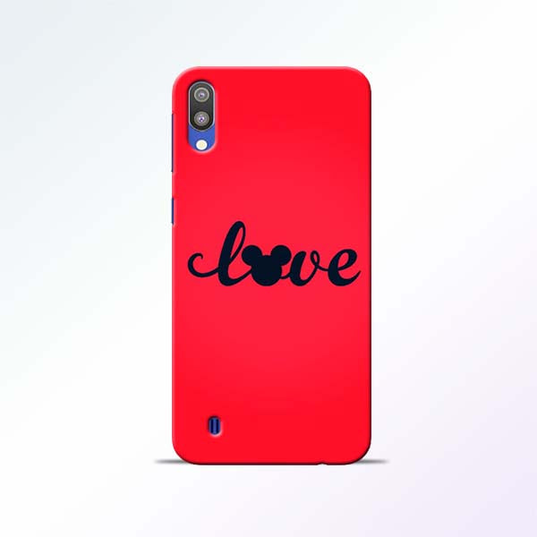 Love Mickey Samsung Galaxy M10 Mobile Cases