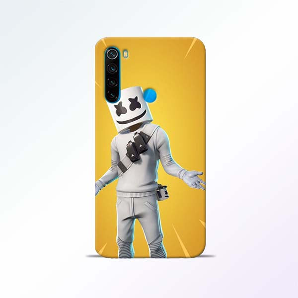 Marshmello Alone Redmi Note 8 Mobile Cases