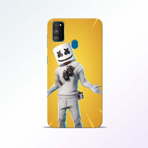 Marshmello Alone Samsung Galaxy M30s Mobile Cases