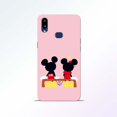 Mickey Minnie Samsung Galaxy A10s Mobile Cases