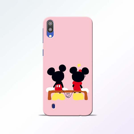 Mickey Minnie Samsung Galaxy M10 Mobile Cases