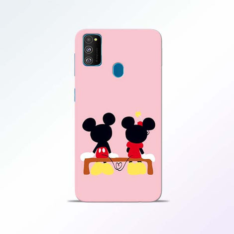Mickey Minnie Samsung Galaxy M30s Mobile Cases