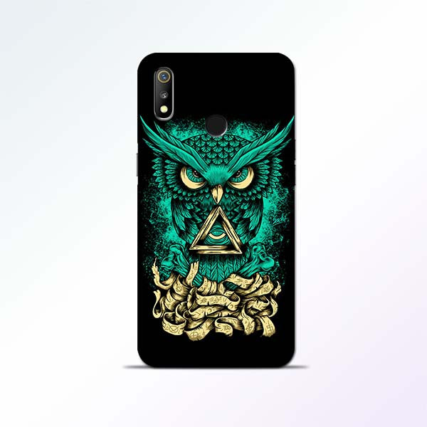 Owl Art Realme 3 Mobile Cases