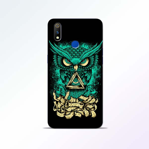 Owl Art Realme 3 Pro Mobile Cases