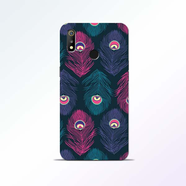 Peacock Feather Realme 3 Mobile Cases