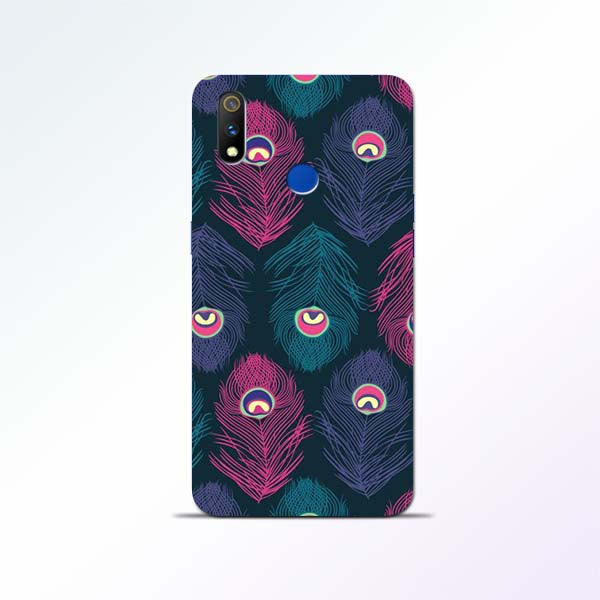 Peacock Feather Realme 3 Pro Mobile Cases