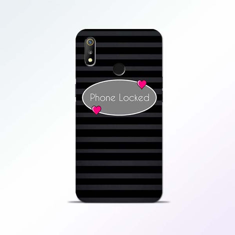 Phone Locked Realme 3 Mobile Cases