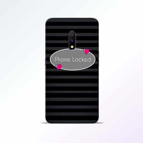 Phone Locked Realme X Mobile Cases