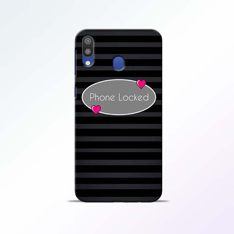 Phone Locked Samsung Galaxy M20 Mobile Cases