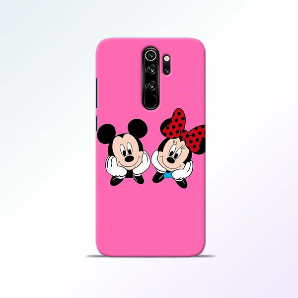 Pink Cartoon Redmi Note 8 Pro Mobile Cases