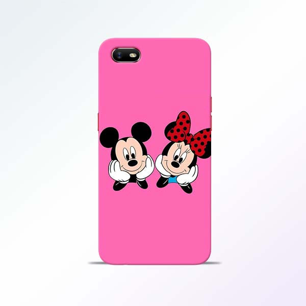 Pink Cartoon Oppo A1K Mobile Cases