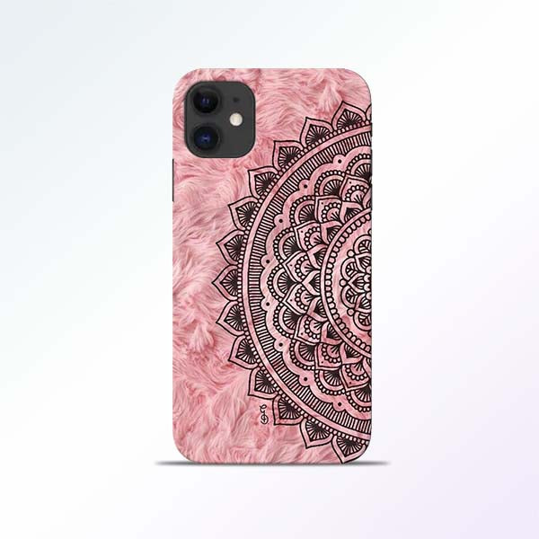 Pink Mandala iPhone 11 Mobile Cases