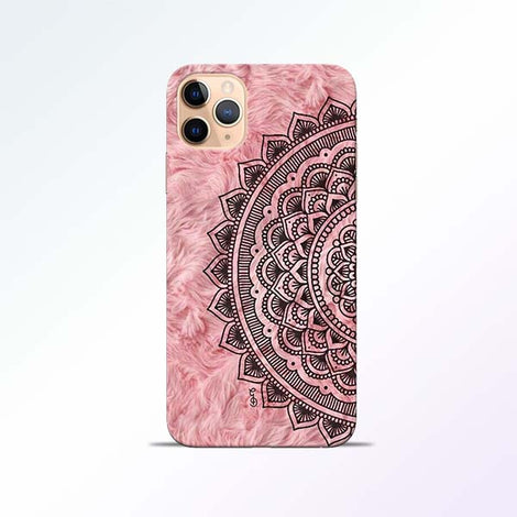 Pink Mandala iPhone 11 Pro Mobile Cases