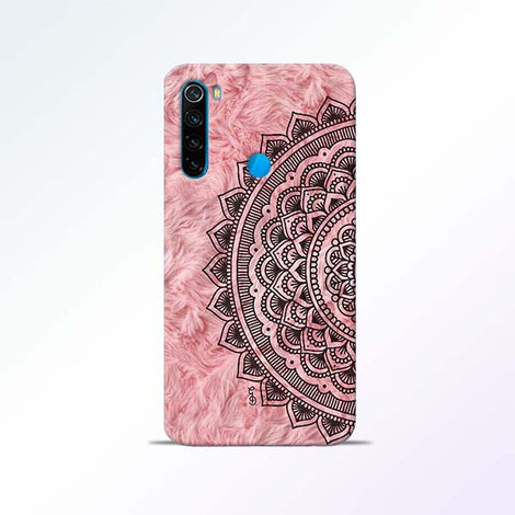 Pink Mandala Redmi Note 8 Mobile Cases