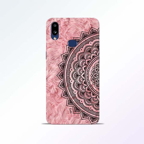 Pink Mandala Samsung Galaxy A10s Mobile Cases