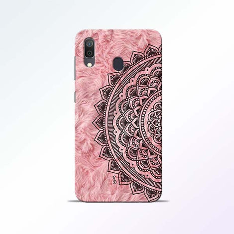 Pink Mandala Samsung Galaxy A30 Mobile Cases