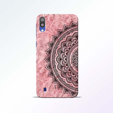 Pink Mandala Samsung Galaxy M10 Mobile Cases