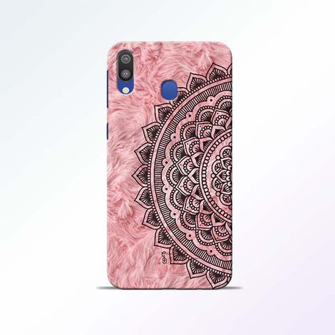 Pink Mandala Samsung Galaxy M20 Mobile Cases