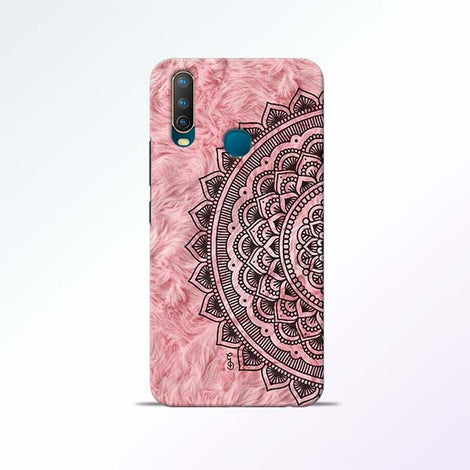 Pink Mandala Vivo U10 Mobile Cases
