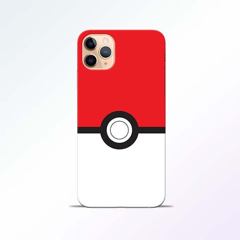 Poke Ball iPhone 11 Pro Mobile Cases