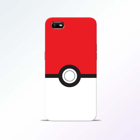 Poke Ball Oppo A1K Mobile Cases