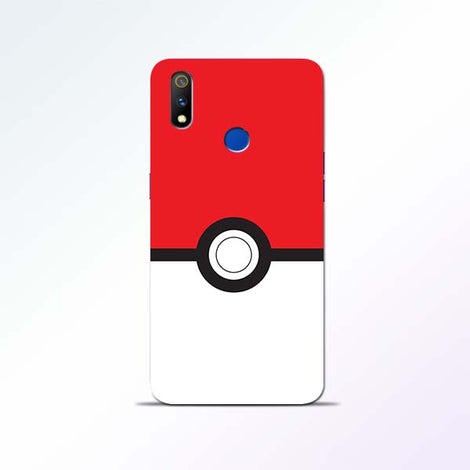 Poke Ball Realme 3 Pro Mobile Cases