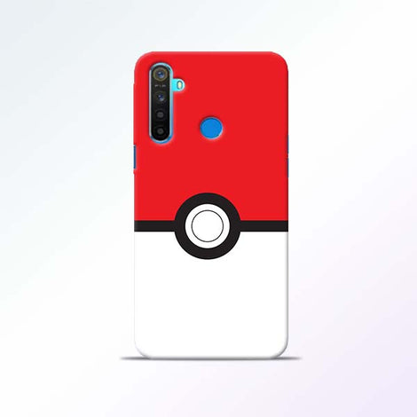 Poke Ball Realme 5 Mobile Cases