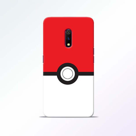 Poke Ball Realme X Mobile Cases