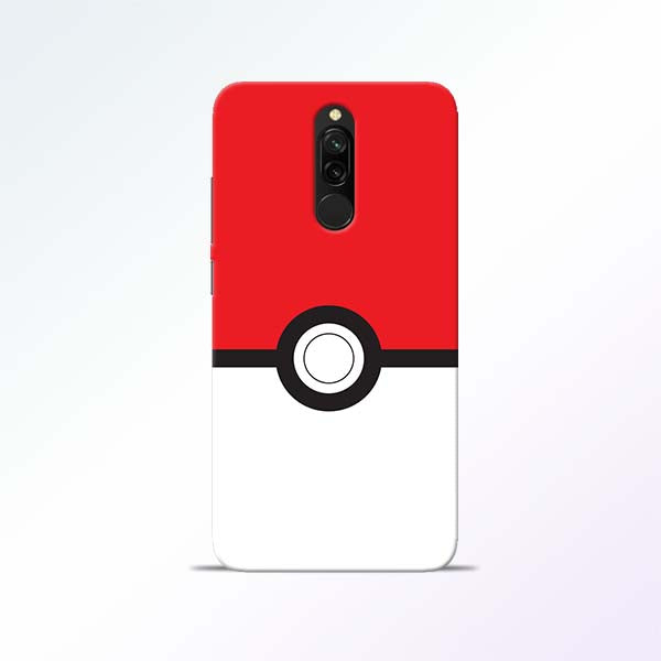Poke Ball Redmi 8 Mobile Cases