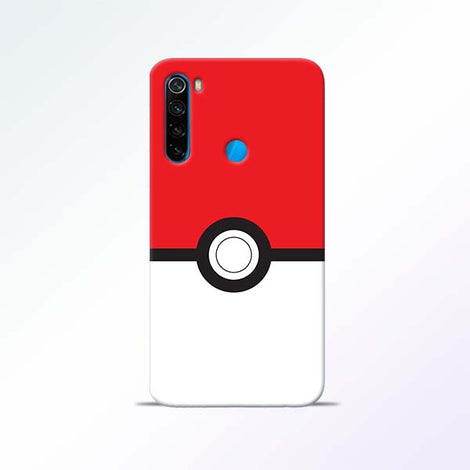 Poke Ball Redmi Note 8 Mobile Cases