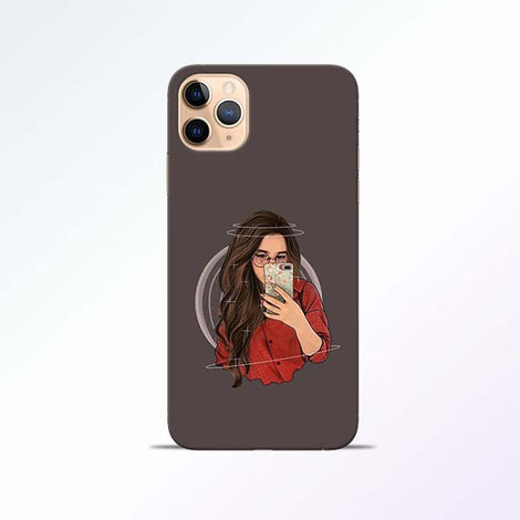Selfie Girl iPhone 11 Pro Mobile Cases