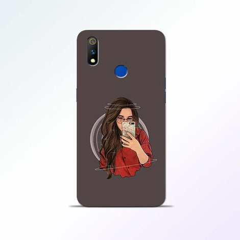 Selfie Girl Realme 3 Pro Mobile Cases