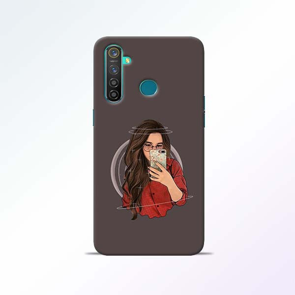 Selfie Girl Realme 5 Pro Mobile Cases