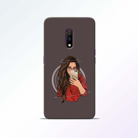 Selfie Girl Realme X Mobile Cases
