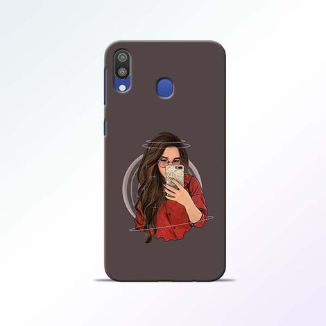 Selfie Girl Samsung Galaxy M20 Mobile Cases