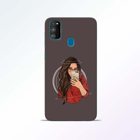 Selfie Girl Samsung Galaxy M30s Mobile Cases
