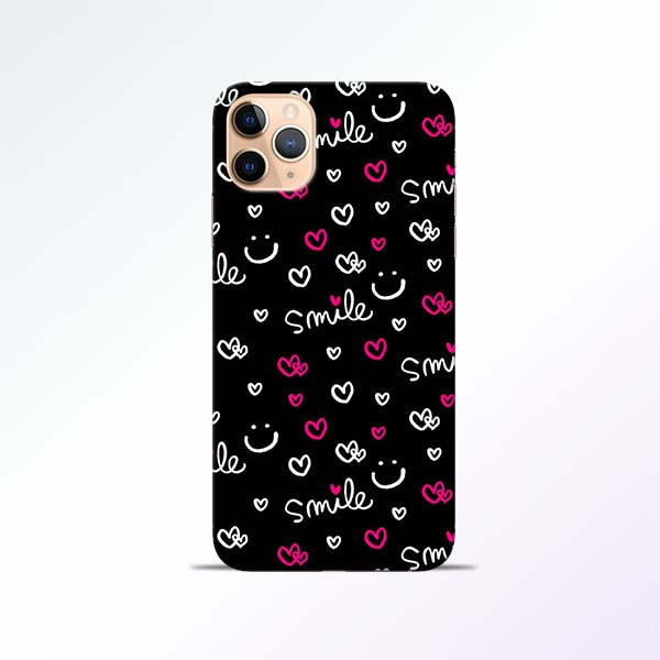 Smile Heart iPhone 11 Pro Mobile Cases