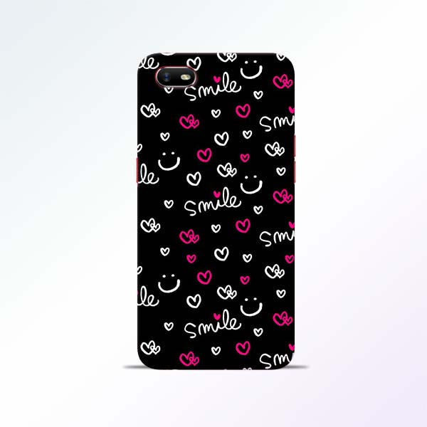 Smile Heart Oppo A1K Mobile Cases