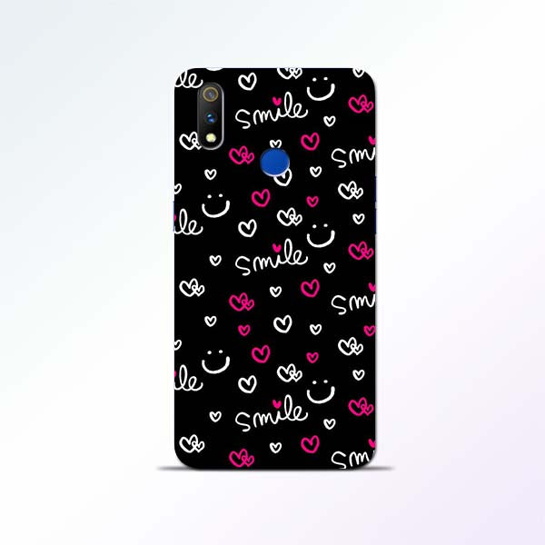 Smile Heart Realme 3 Pro Mobile Cases