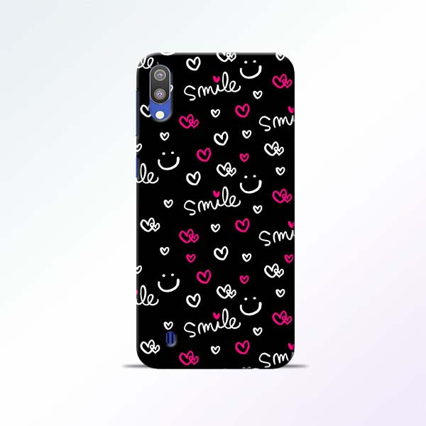 Smile Heart Samsung Galaxy M10 Mobile Cases