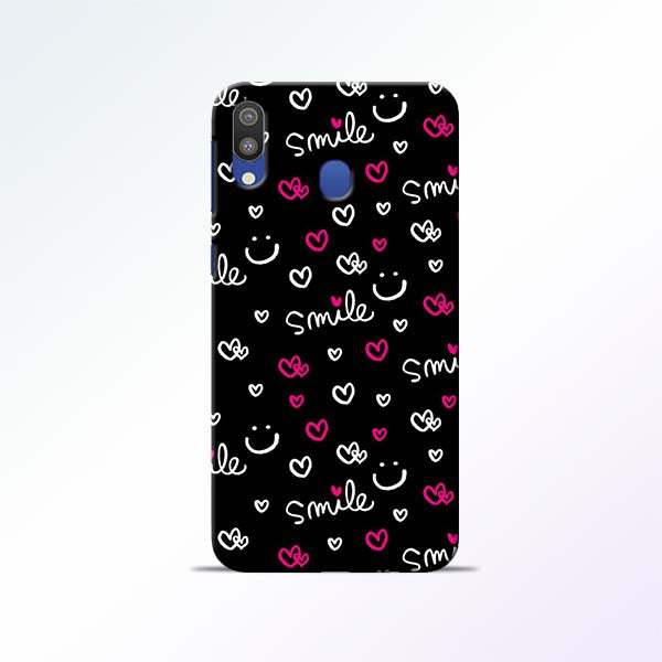 Smile Heart Samsung Galaxy M20 Mobile Cases