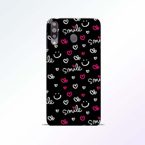 Smile Heart Samsung Galaxy M30 Mobile Cases