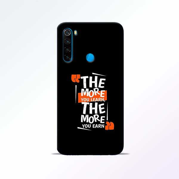 The More Redmi Note 8 Mobile Cases
