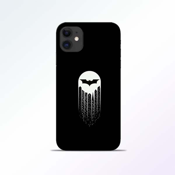 White Bat iPhone 11 Mobile Cases