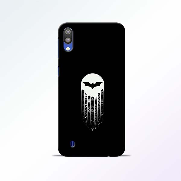 White Bat Samsung Galaxy M10 Mobile Cases