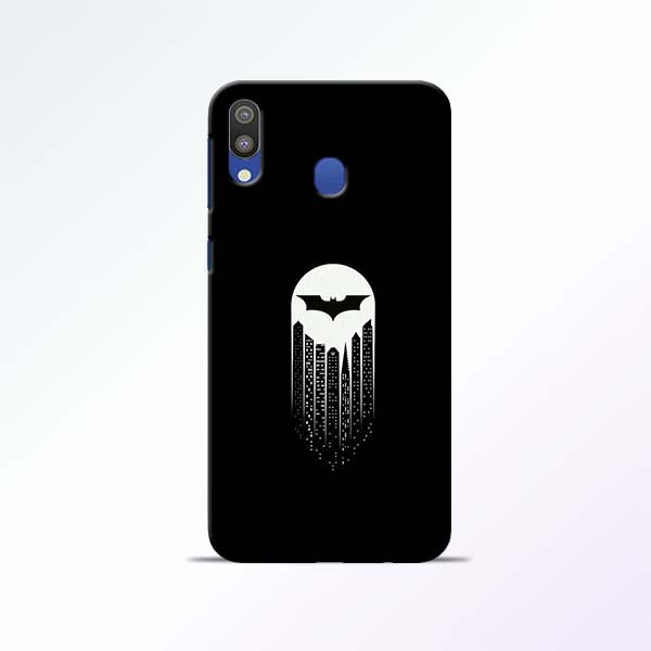 White Bat Samsung Galaxy M20 Mobile Cases