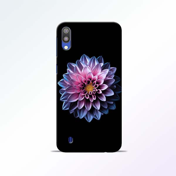 White Flower Samsung Galaxy M10 Mobile Cases